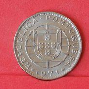 ANGOLA 20 ESCUDOS 1971 -    KM# 80 - (Nº19137) - Portugal