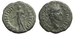 [H] +++ AE19 -- Antoninus Pius --  PHILIPPOPOLIS In Thracia - Dionysos +++ - Römische Münzen