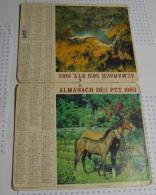 Almanach Des PTT De 1983, Département Du Morbihan (56) - Calendars