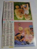 Almanach Du Facteur De 1990 Département Du Morbihan (56) - Big : 1981-90