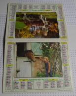 Almanach Du Facteur De 1983, Département Du Morbihan (56) - Big : 1981-90
