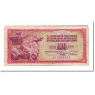 Yougoslavie, 100 Dinara, 1978-08-12, KM:90a, B+ - Yougoslavie