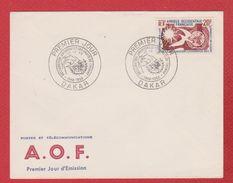AOF / Enveloppe Premier Jour/ Déclaration Universelle Des Droits De L'homme  / Dakar  / 10 Décembre 1958 - Autres - Afrique