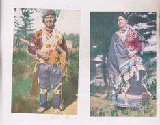 2 CPA MENOMINEE  OF WISCONSIN WOMAN AND MAN - Etats-Unis