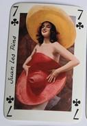 Carte à Jouer érotique Juan Les Pins Pin Up Sourires De France Belotte Tierce - Playing Cards