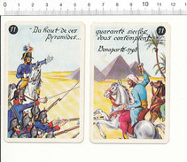 Du Haut De Ces Pyramides ... 1798 Bonaparte / Napoléon Campagne D'Egypte Histoire De France Coiffes Militaires IM176-2 - Vieux Papiers