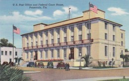 Florida Pensacola Post Office and Federal Court House 1945 Curte