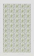 Timbres Militaires COB M4 ** - Feuille Complète - Coin Daté Du 13/05/1974 - Numéro De Planche 2 - Feuilles Complètes
