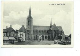 Geel Markt En Kerk ( Gelopen Kaart ) - Geel