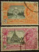 K G V .1935 SILVER JUBILEE . Sg 244 & 246 8 Annas TOP VAL - 1911-35 Roi Georges V