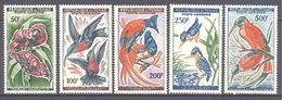 Tchad: Yvert N° A 2/6**; MNH; Oiseaux; Birds; Guépier; Gobe-mouches Etc... - Chad (1960-...)