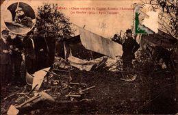 Epinal - Chute Mortelle Du Caporal Aviateur D'Autroche (20/10/1913) - Après L'accident - Guerre 1914-18