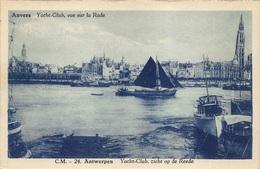 Antwerpen  Anvers   Yacht Club Zicht Op  De Reede  La Rade     Zeilboot        X 2176 - Antwerpen