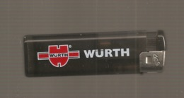 """Briquet  De Publicité  """"  Wurth """" - Cardin (Pierre)"""