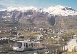 """Bourg Saint Maurice - Le Funiculaire """"L'Arc En Ciel"""" Qui Relie Les Arcs - Bourg Saint Maurice"""