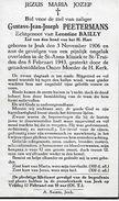 GINGELOM. JEUK - SINT-TRUIDEN. GUSTAVE PEETERMANS 1906-1943 - Gingelom