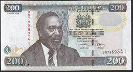 Kenya 200 Shillingi 2006 P49b UNC - Kenia