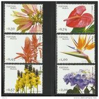 MADEIRA  2006  FLOWERS  SET  MNH - Unclassified