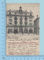 Luzern - Schwanenplatz, Haus Mit Passage Zum Stein, Cover Luzern 1908 Send To Japan, Postmark - Postcard - LU Lucerne