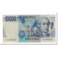 Italie, 10,000 Lire, KM:112a, 1984-09-03, TTB - [ 2] 1946-… : République