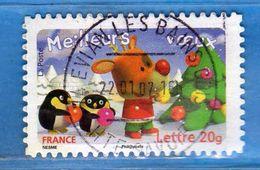 Francia ° - 2006 - Meilleurs Voeux  - YVERT. 3988   Oblitérés.   Vedi Descrizione. - Francia