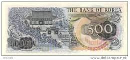 KOREA SOUTH P. 43 500 W 1973 UNC - Korea, South
