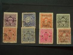 SMALL  STOCK CARD OF STAMPS - Travancore-Cochin
