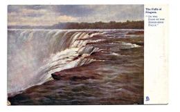 CAPC004 The Falls Of Niagara / Edge Of The Horse-Show Falls / Tuck's Postcard - Niagara Falls