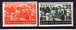 BULGARIA / BULGARIE - 1940 - 1943 - Apiculture - 2v** - 1909-45 Königreich
