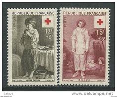 1956 Croix - Rouge N° 1089+1090 Neuf** SANS CHARNIERES  : ACHAT IMMEDIAT !! - Nuevos