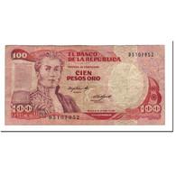 Colombie, 100 Pesos Oro, 1984-10-12, KM:426A, TTB - Colombie