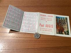 Calendrier 1968 (4 Volets) «BOULANGERIE Paul AUGIS LA ROCHELLE (17)/ Larrieu-Bonnel Toulouse (31) / Code De La Route» - Calendriers