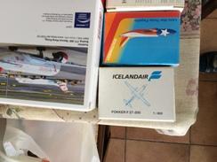 SCABAK 1:600 ICELANDAIR FOKKER ! - Airplanes & Helicopters