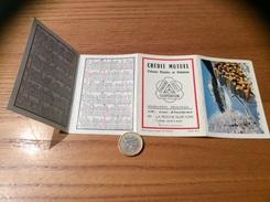 Calendrier 1969 (4 Volets) «CRÉDIT MUTUEL LA ROCHE-SUR-YON (85)/ Hiver Massif Pelvoux Photo Witz / Code De La Route» - Calendriers