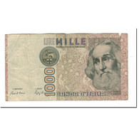 Italie, 1000 Lire, 1988, KM:109b, TB+ - [ 2] 1946-… : République