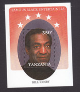 Tanzania, Scott #588, Mint Never Hinged, Bill Cosby, Issued 1990 - Tanzanie (1964-...)