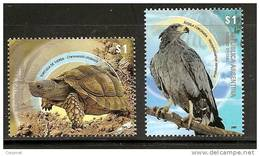 FAUNA - TURTLES  And EAGLES - ARGENTINA 2009 - MINT NH - Turtles