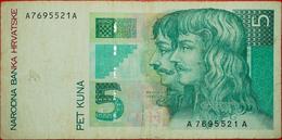 √ FORTRESS: CROATIA ★ 5 KUNA 1993!  LOW START ★  NO RESERVE! - Croatia