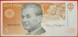 √ KERES (1916-1975): Estonia (ex. The USSR) ★ 5 CROWNS 1991 (1992)! LOW START ★  NO RESERVE! - Estonia
