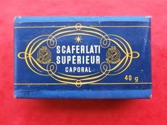 COLLECTION  Paquet De Tabac SCAFERLATI SUPERIEUR CAPORAL  40g - Otros