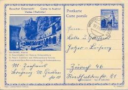 Entier Autriche Illustré -  Bregrenz 19.7.62 - Salzburg, Cimetière Saint Pierre - Film Sound Of Music - Cinema