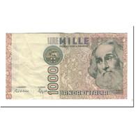 Italie, 1000 Lire, 1988, KM:109b, TTB - [ 2] 1946-… : République