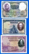 Espagne  6  Billets - [ 1] …-1931 : First Banknotes (Banco De España)