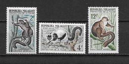 LOTE 1456  ///  (C010)  MADAGASCAR  //  YVERT Nº:  357/359 **MNH - Madagascar (1960-...)