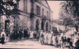 Algérie,  Téniet-el-Haad La Mairie, Publicité ABSINTHE BERGER (27) - Altre Città