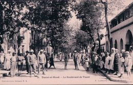 Algérie, Téniet-el-Haad Le Boulevard De Tiaret (28) - Tiaret