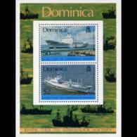 DOMINICA 1975 - Scott# 440a S/S Ships MNH - Dominica (1978-...)
