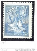 ARGENTINA - 1944 - SEMANA DEL MAR  - # 437 -  MINT (NH) - Argentinien