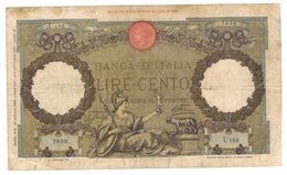 Italy 100 Lire, P-55a, Used. See Scan. - 100 Lire