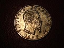 Italie - 20 Centesimi 1863 M BN Vittorio Emanuele 3366 - 1861-1878 : Victor Emmanuel II